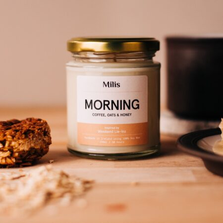 Morning Candle - Coffee, Oats & Honey