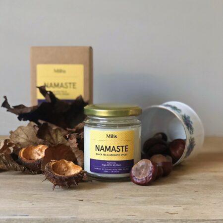 Namaste Candle - Black Tea & Aromatic Spices