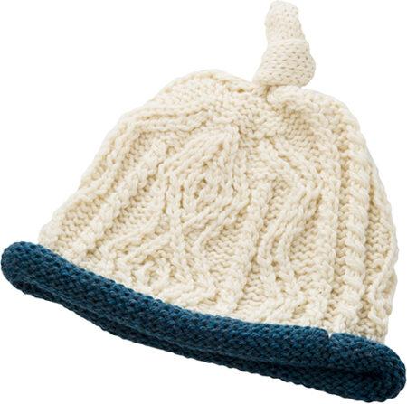 Baby's Super Soft Merino Hat - Denim