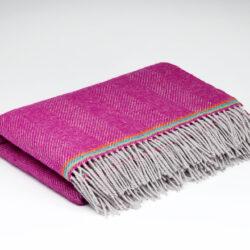 Rose Pink Children's Woollen Blanket