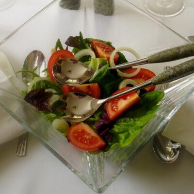 Connemara Marble Salad Server Set